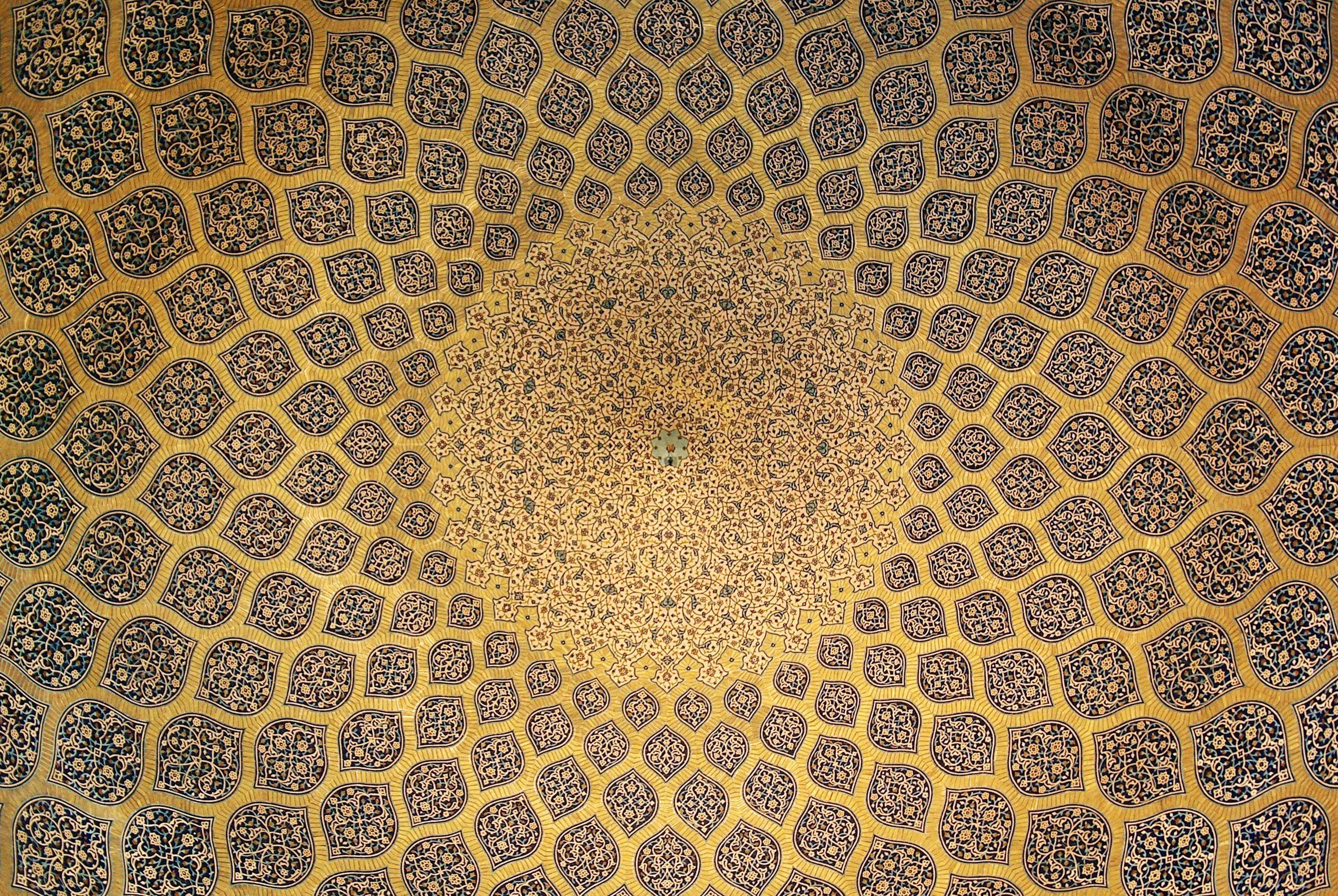 Mosquée d'Isfahan en Iran