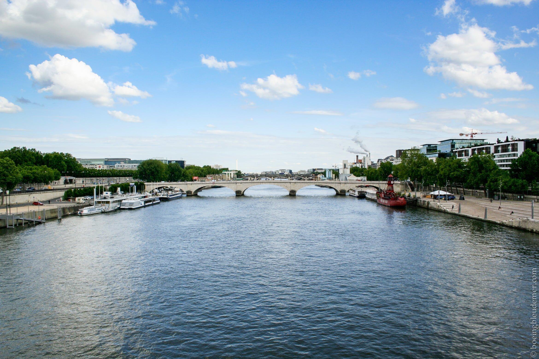 Brèves Parisiennes - vue sur les ponts de la Seine
