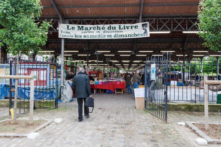 Marché du livre 15e à Paris