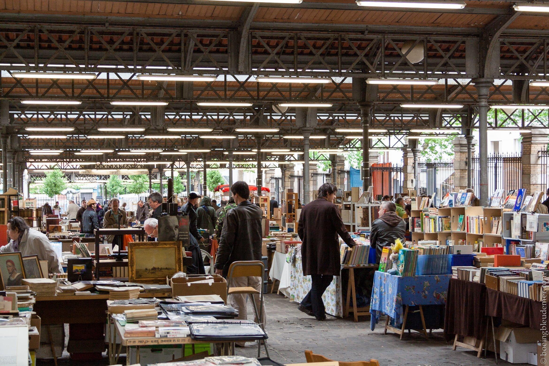 Marché du livre à Paris