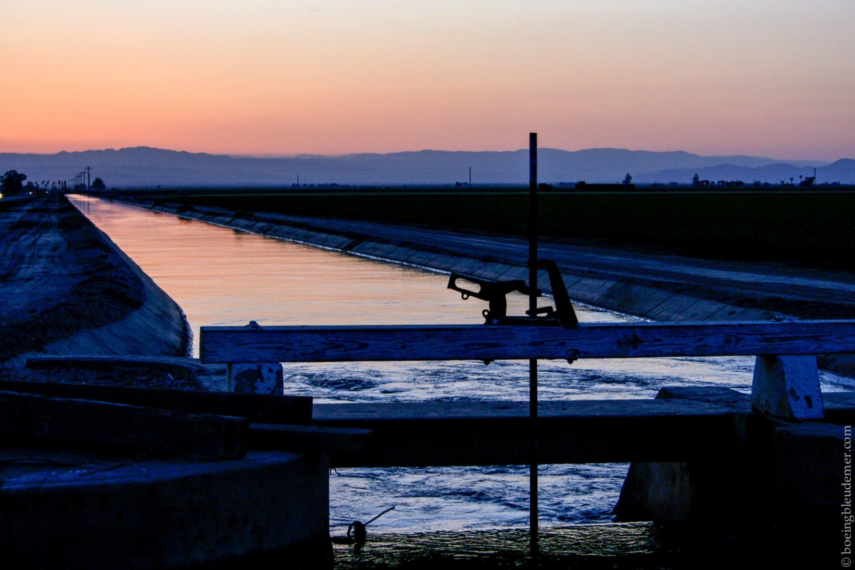 Mémoire All-American Canal - coucher de soleil