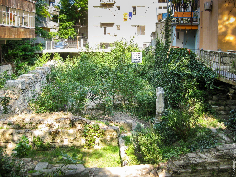 Voyage en Bulgarie - Ruines à Varna