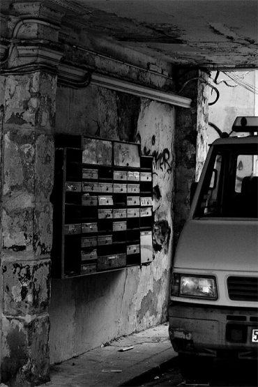 XXe arrondissement: boîtes aux lettres délabrées