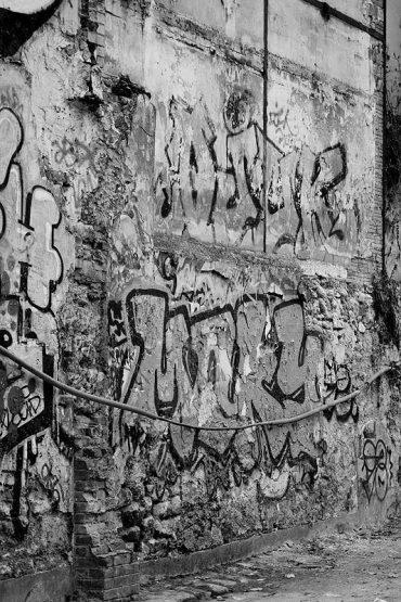 XXe arrondissement: graffiti