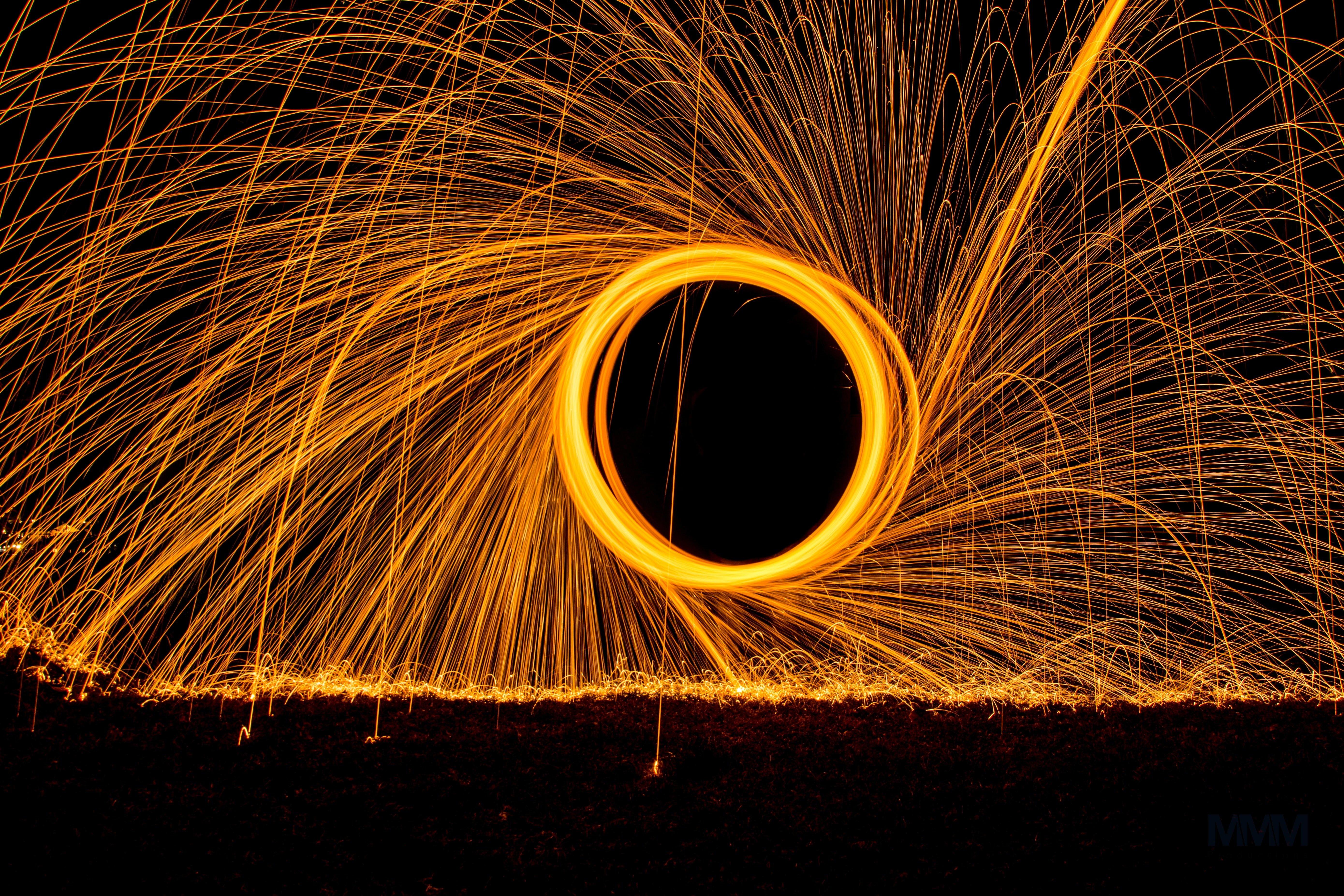 Prise dans un vortex spatio-temporel