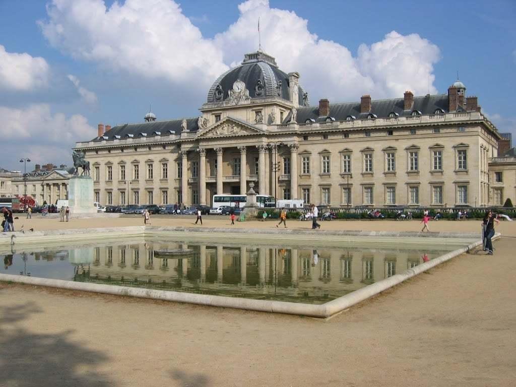 L'Ecole Militaire au Champ de Mars, Paris