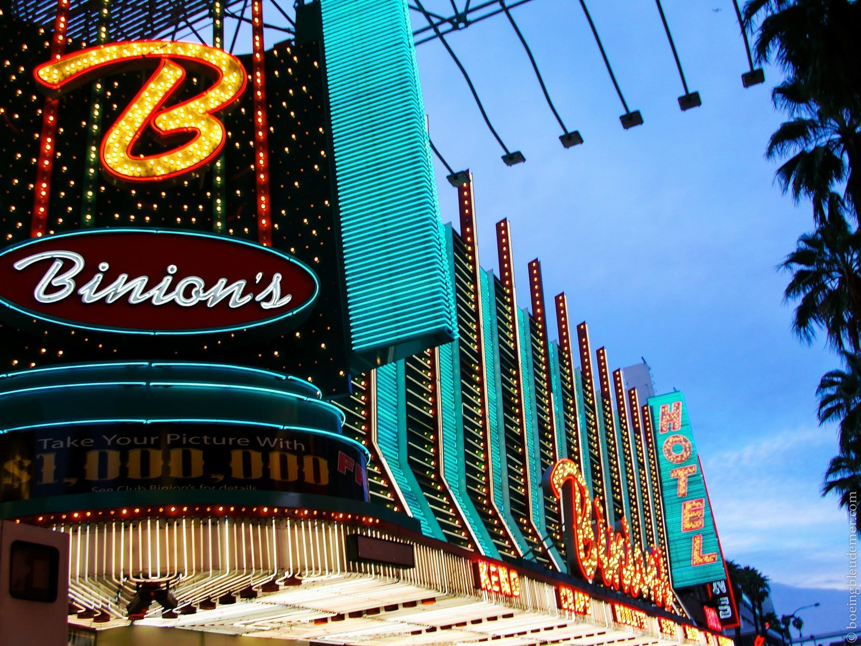Viva Las Vegas, Binion's