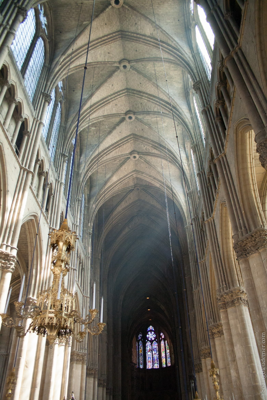 Nef de la Cathédrale de Reims