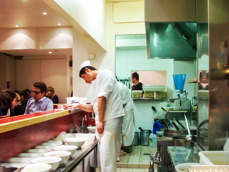 Cuisines de Sapporo, Paris