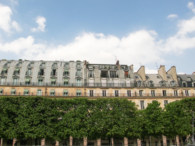 Immeubles de la rue Rivoli, Paris
