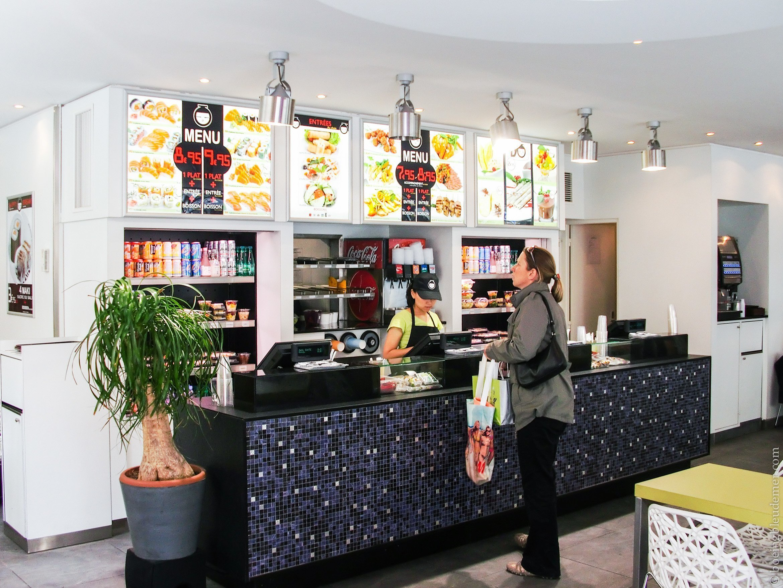 Menus, restaurant IYO
