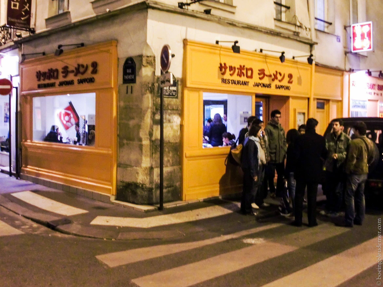 Restaurant Japonais Sapporo, Paris