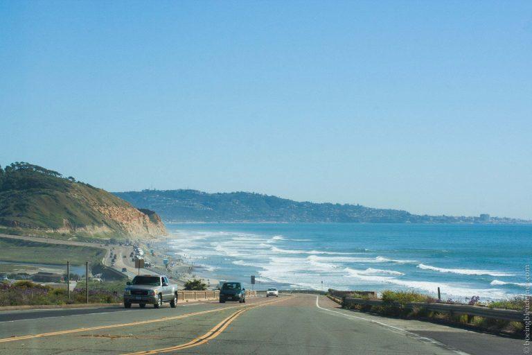 Pacific Highway entre Los Angeles et San Diego
