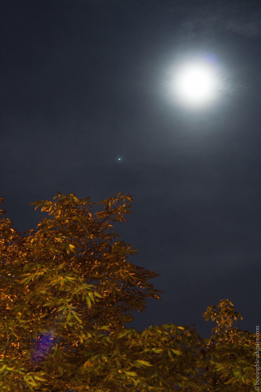 Equinox moon