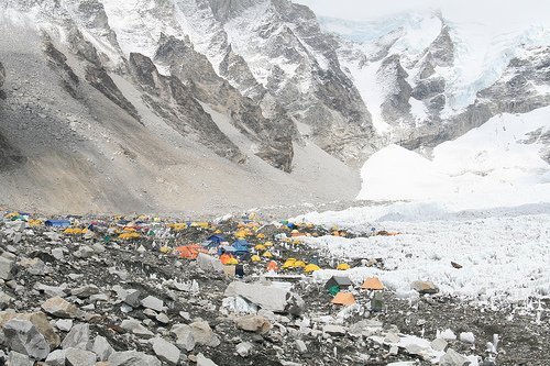 everest base camp - ebc