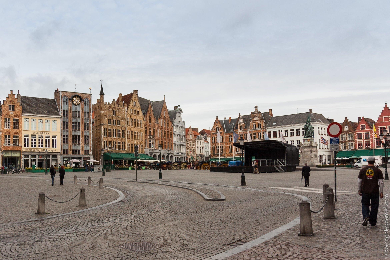 Grand Place de Bruges, Belgique, Europe