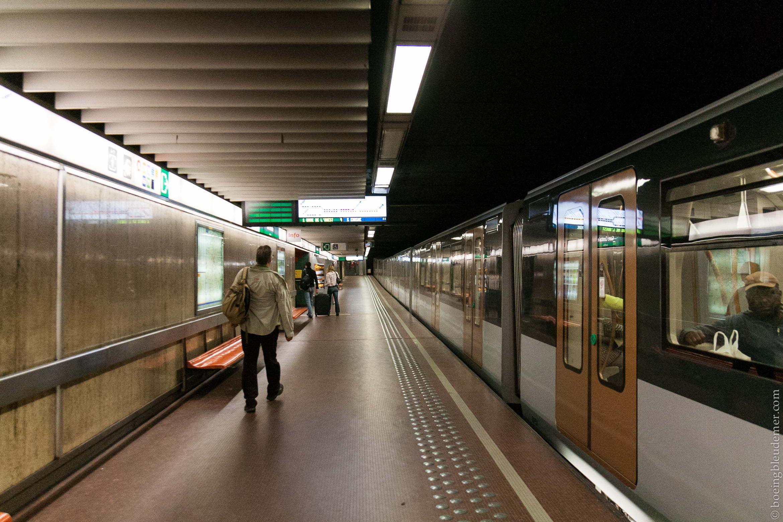 Métro de Bruxelles, Belgique