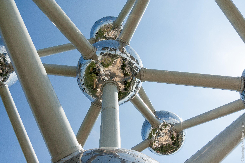 Retour à l'atomium: monument Bruxellois