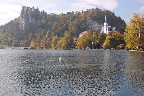Bled Castle & Church