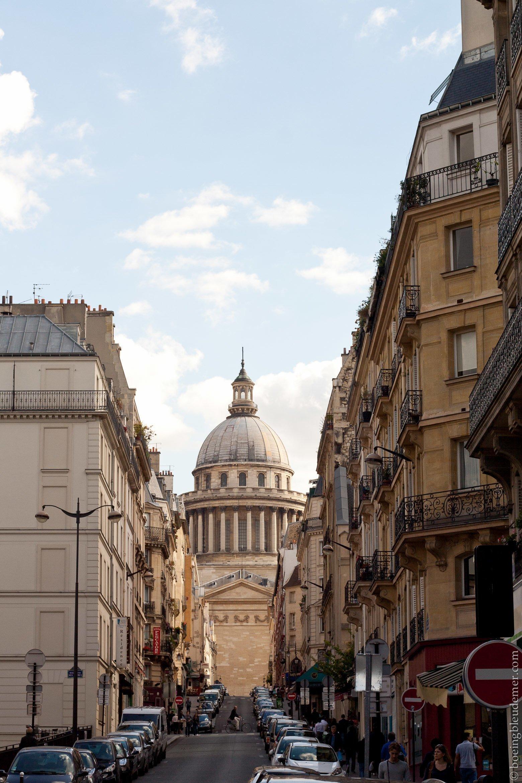 Vue sur le Panthéon, Paris