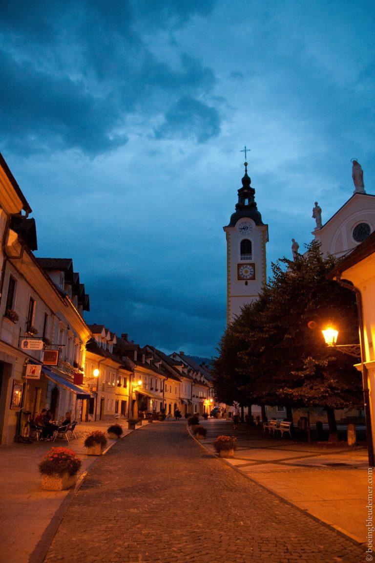 Rues de Kamnik, Slovénie