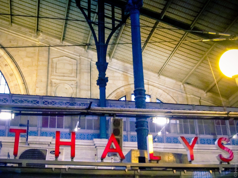 Thalys, gare du Nord