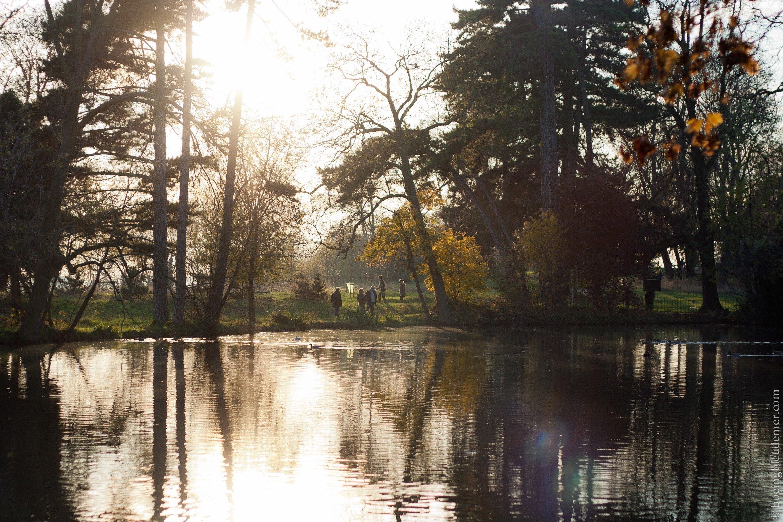 Parc de Vincennes en automne