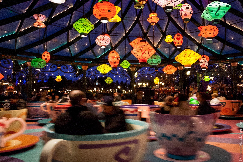 Une journée de rêve à Disneyland Paris: Les tasses tournantes