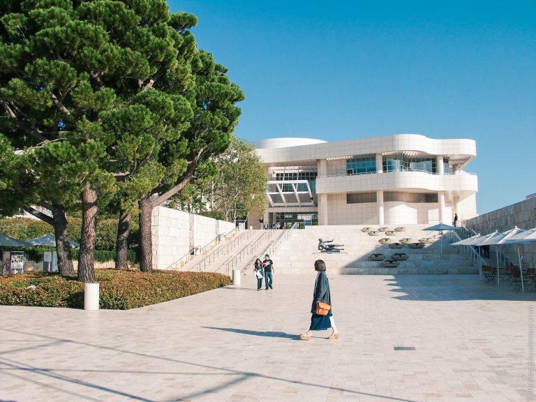 Le musée Paul J. Getty à Los Angeles