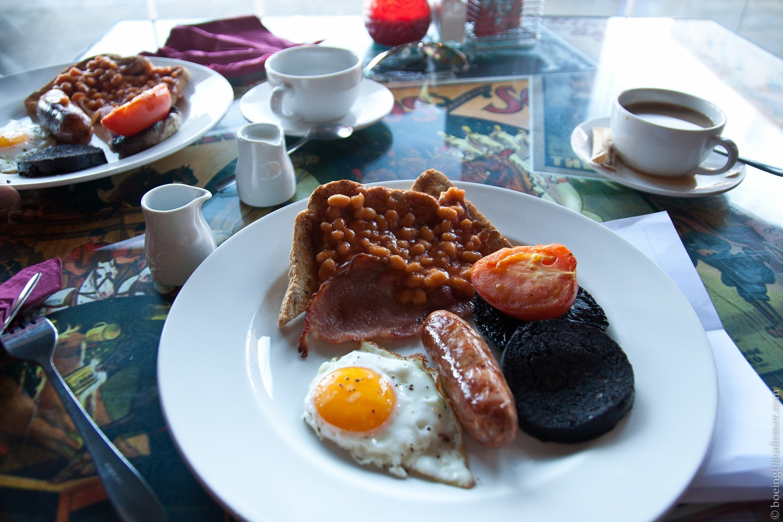 Petit-déjeunner anglais