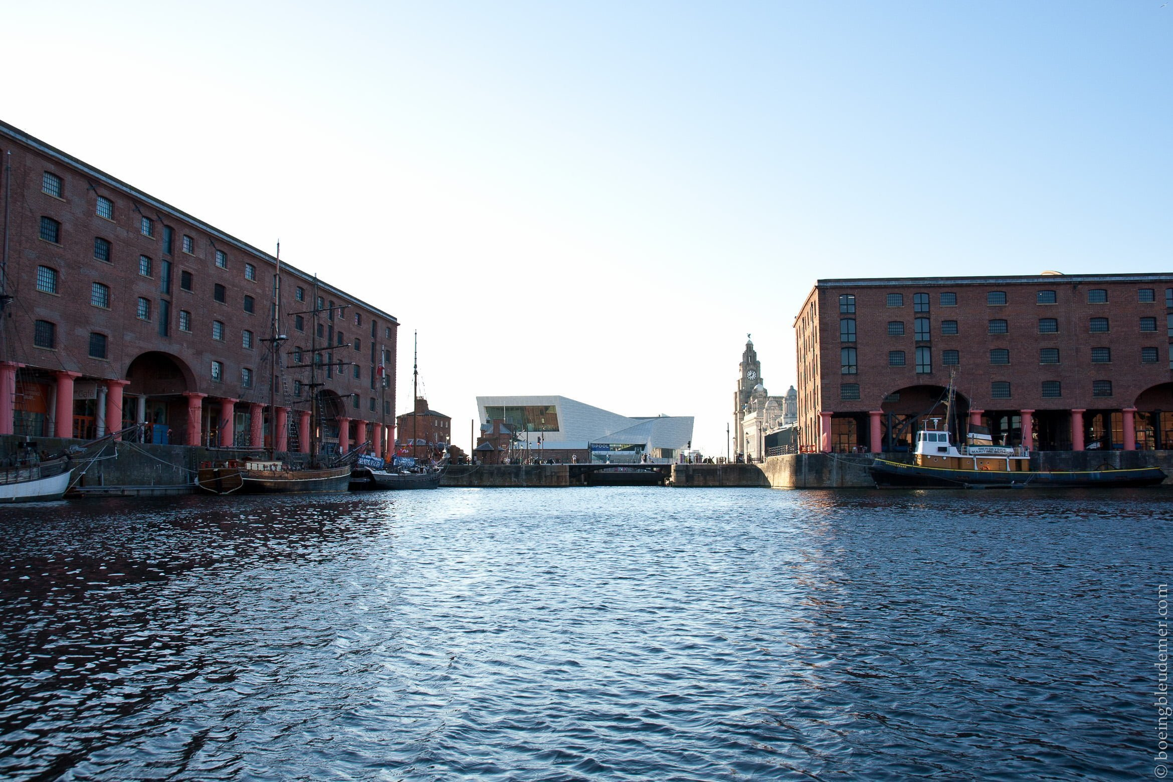 Albert Docks à Liverpool