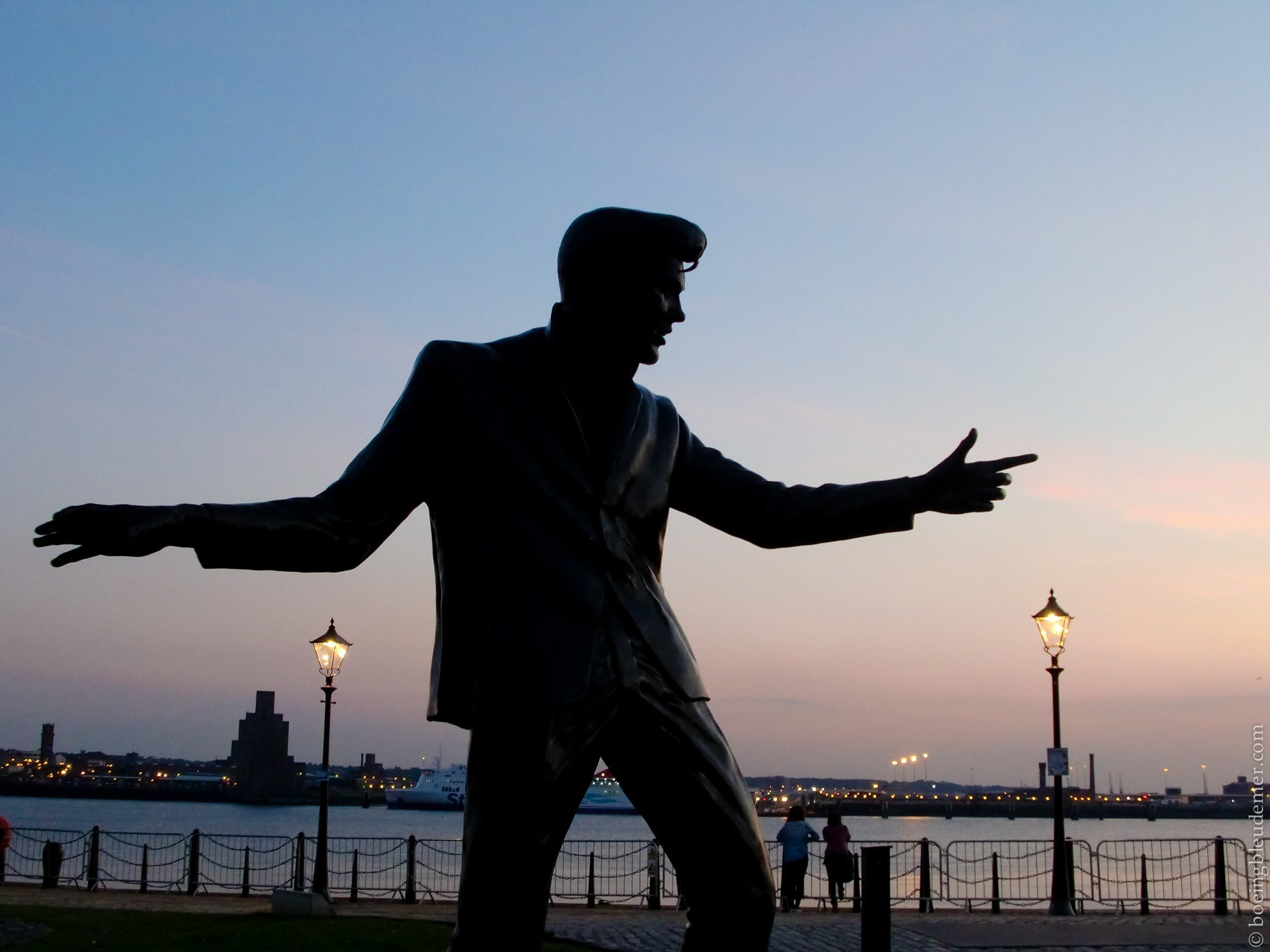 Billy Fury in Liverpool