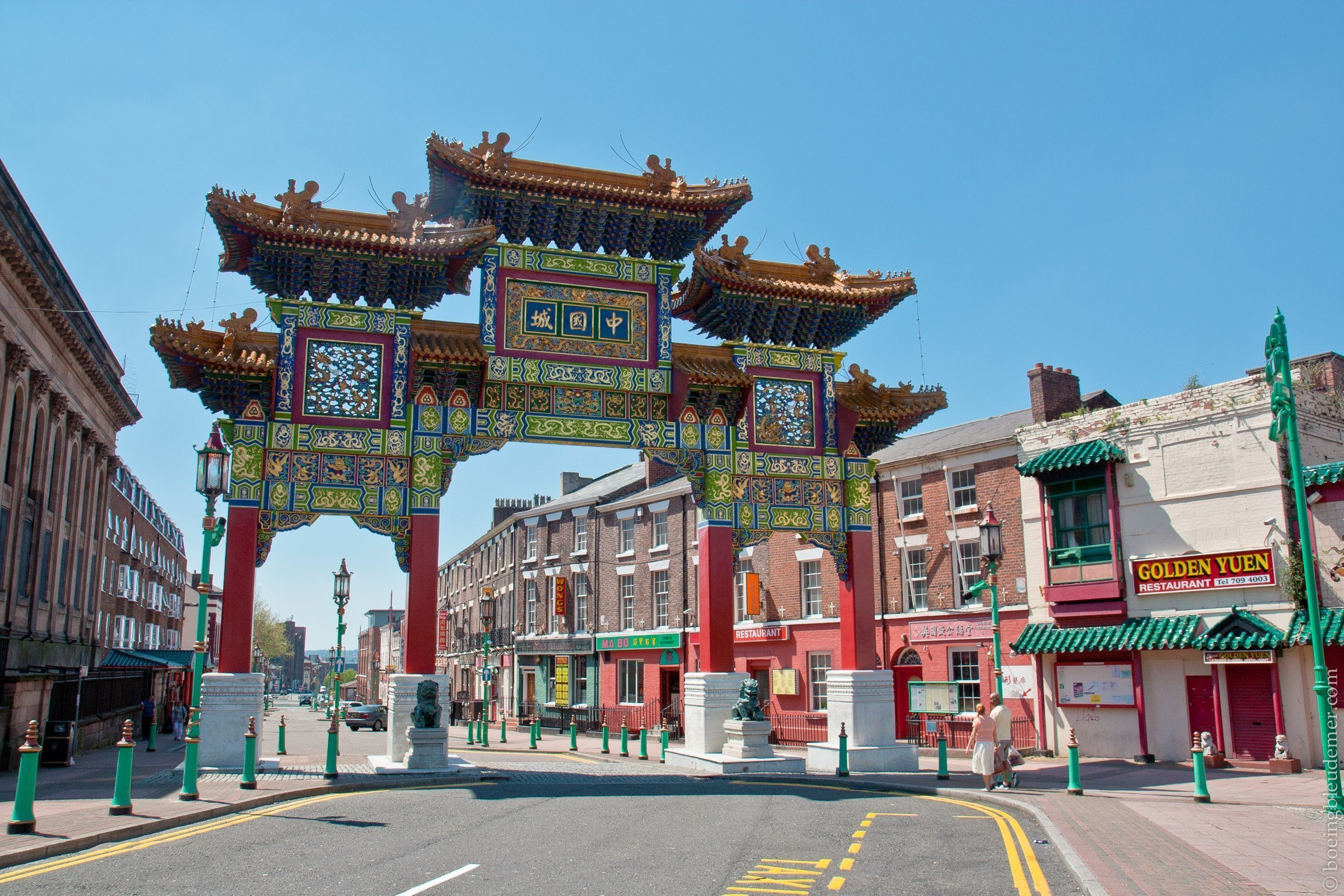 Quartier chinois de Liverpool