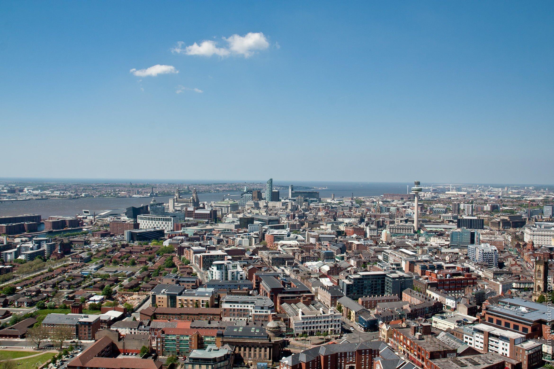 Vue sur Liverpool