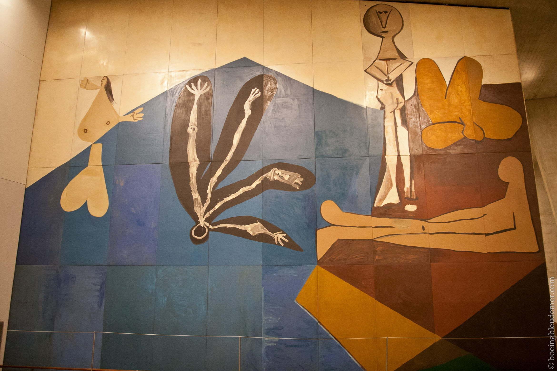 La chute d'Icare de Pablo Picasso (1958)