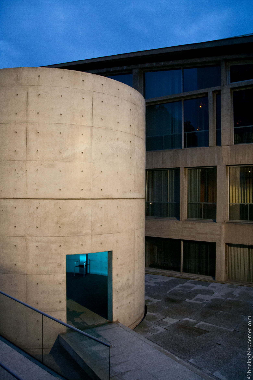 L'Espace de méditation de Tadao Ando et le jardin de la paix d'Isamu Noguchi