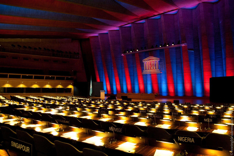 Salle de réunion- Maison de l'UNESCO