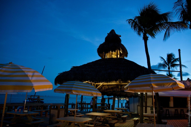 Seaside restaurant at the Postcard Inn hotel