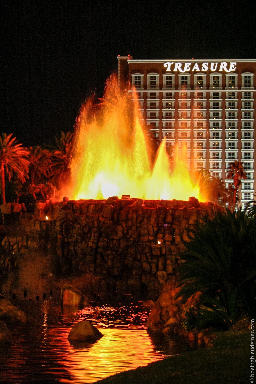 Fontaine de l'hotel Mirage, Las Vegas