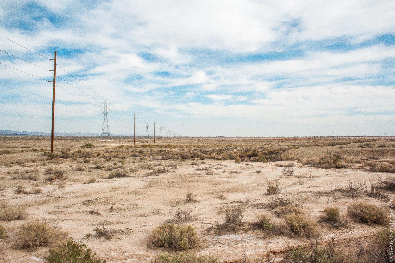 Vallée Impériale, CA désert du Colorado