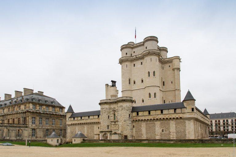 Château de Vincennes, forteresse du moyen-âge