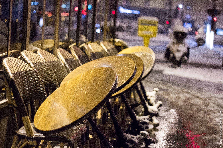 Il neige aussi sur Paris