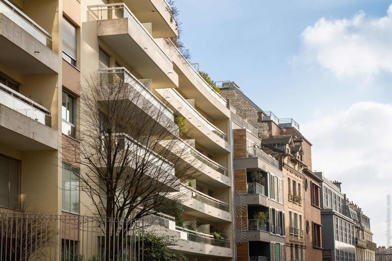 Immeubles parisiens du 20e arrondissement