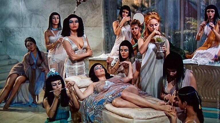 Film Cléopâtre, 1963 (Fox)