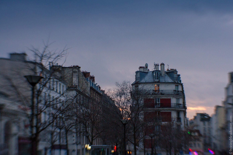 Vue de Paris, Lensbaby