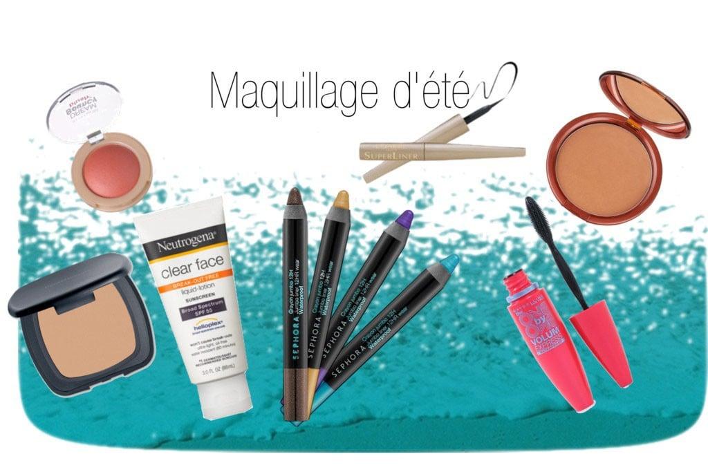 Maquillage d'été