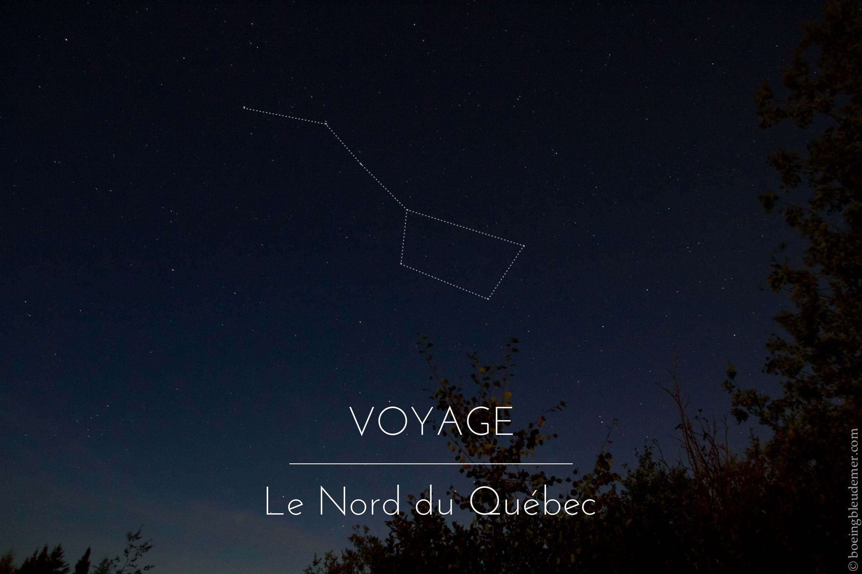 Voyage dans le Nord du Québec