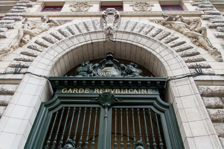 Porte de la Garde Républicaine Boulevard Henri IV