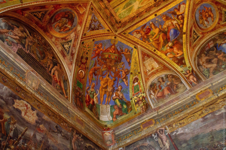 Vatican - week-end à Rome: Chambres de Raphael