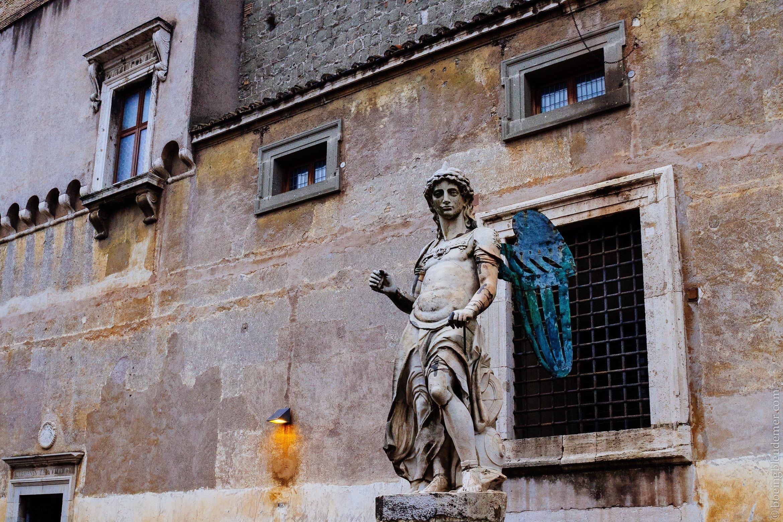 Vatican - week-end à Rome: l'ange Saint-Michel